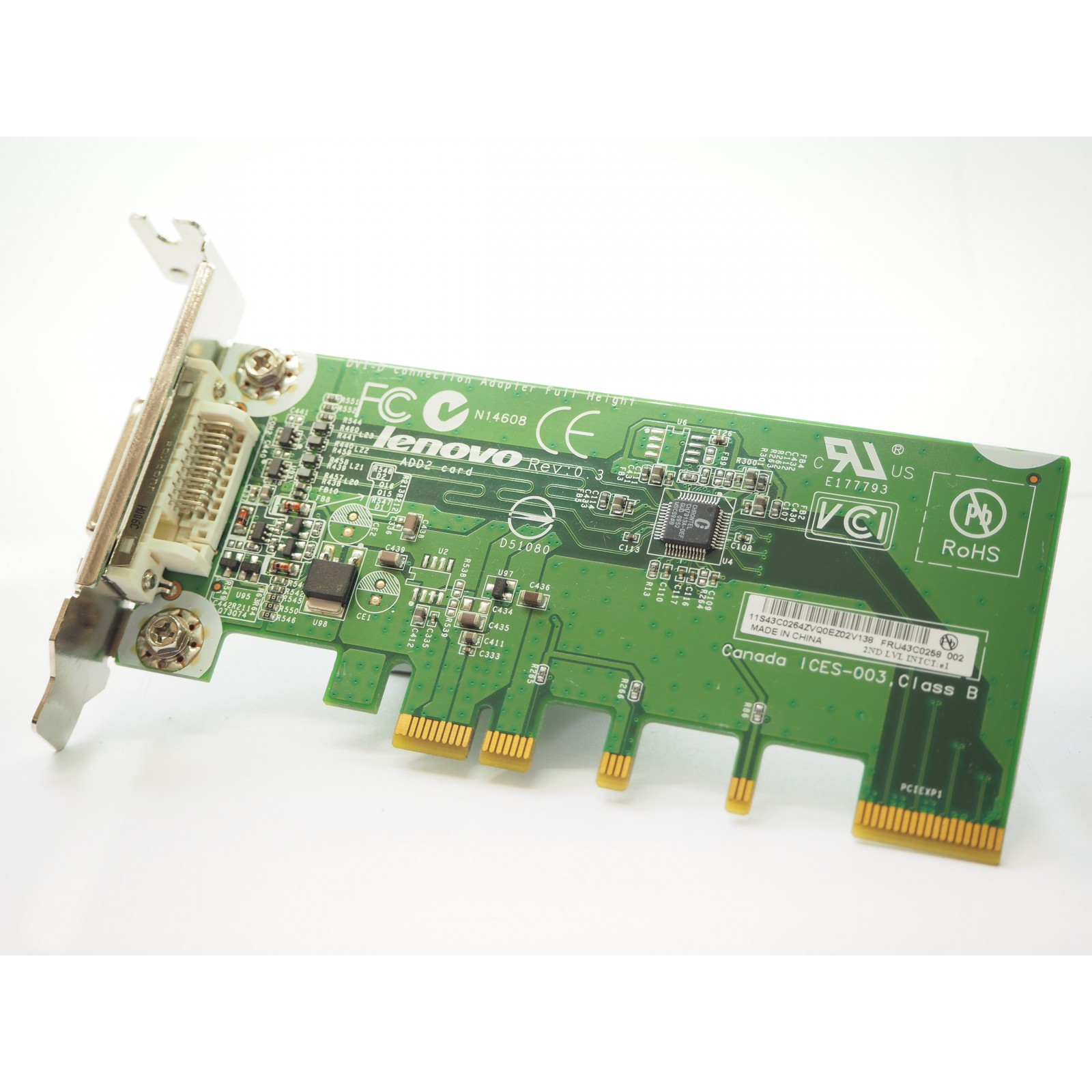 Lenovo DVI-I PCI-E Video Adapter
